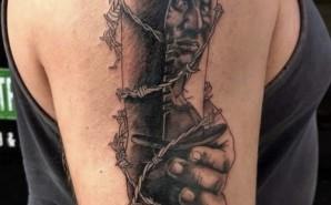 Black&Grey Arm Piece
