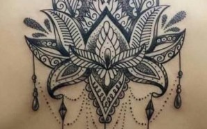 Black & Grey Mandala Dot Work Back Piece