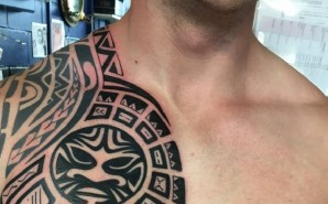 Polynesian Chest Piece