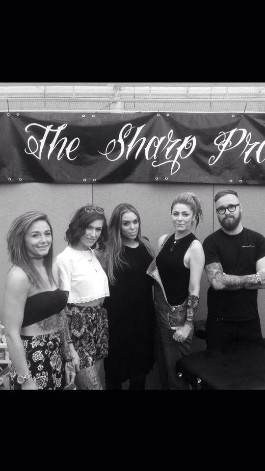 it was nice to have arabella drummond on our stall